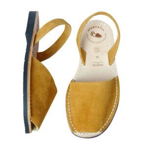 """Avarca Sandale """"Lauren"""", safran"""