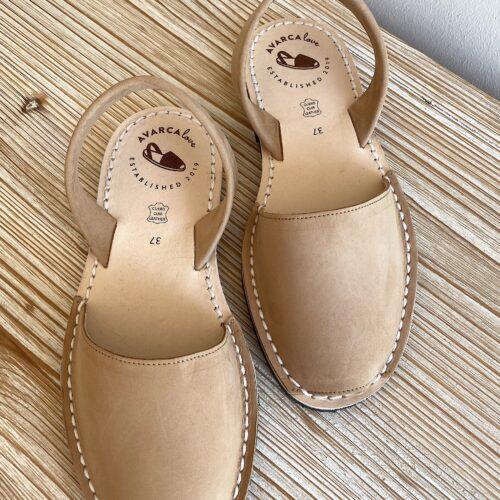 """Avarca Sandale """"Lauren"""", karamell"""