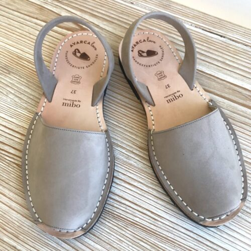 "Avarca Sandale ""Lauren"", grau"