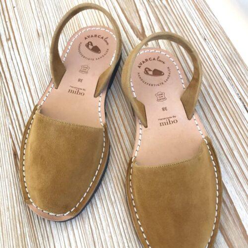 "Avarca Sandale ""Lauren"" soft safran"