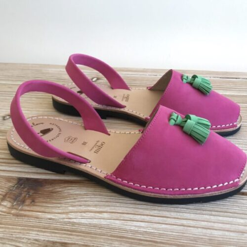 "Avarca Sandale ""Ally"", pink"