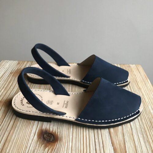 "Avarca Sandale ""Lauren"", marineblau"