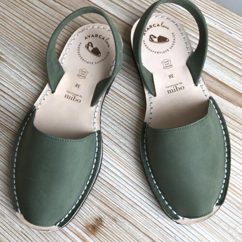 """Avarca Sandale """"Lauren"""" kaki"""