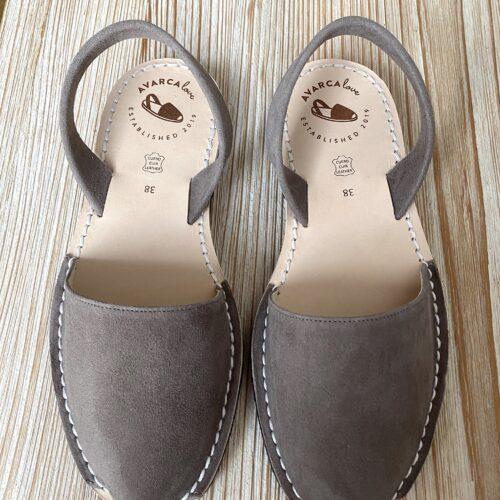 "Avarca Sandale ""Lauren"" soft cosy taupe"