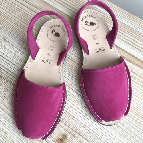 "Avarca Sandale ""Lauren"" soft berry"