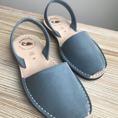 """Avarca Sandale """"Lauren"""" hellblau"""