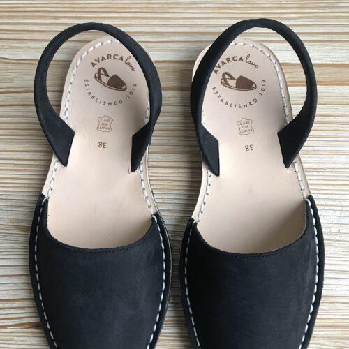 "Avarca Sandale ""Lauren"" schwarz"