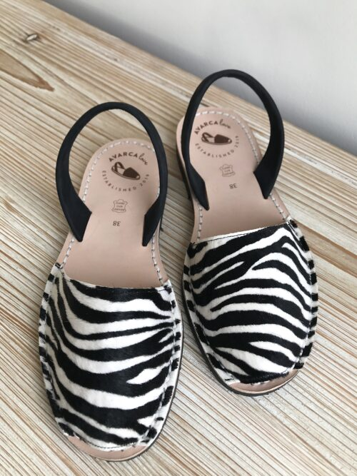 Avarcalove Avarca Sandale Lauren Zebra