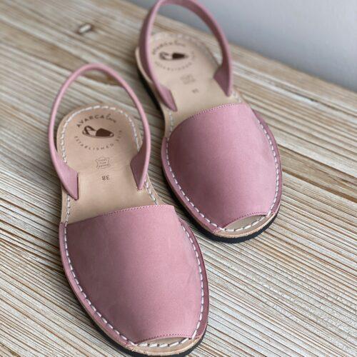 "Avarca Sandale ""Lauren"" rosa Bubblegum"