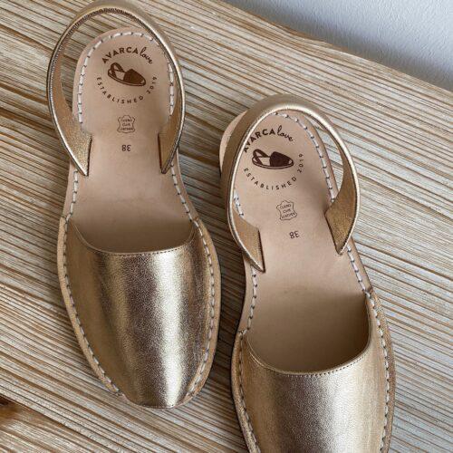"""Avarca Sandale """"Lauren"""" gold"""
