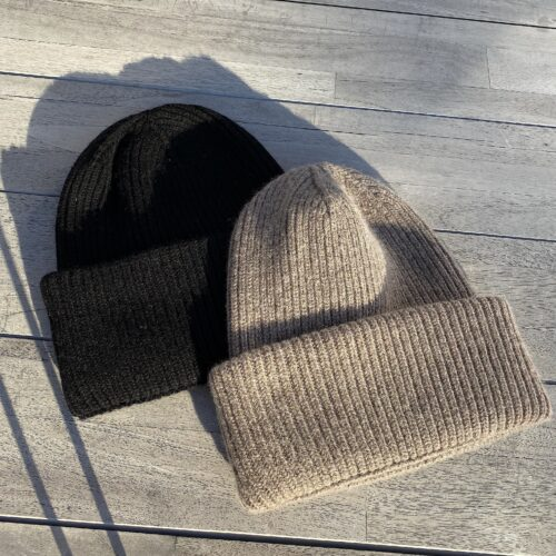 Mütze taupe